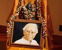 Photo at the Homage to Sri Lalgudi G. Jayaraman concert and book release