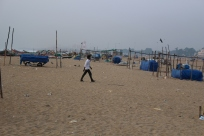 Chennai's beach is renowned as the world's widest.